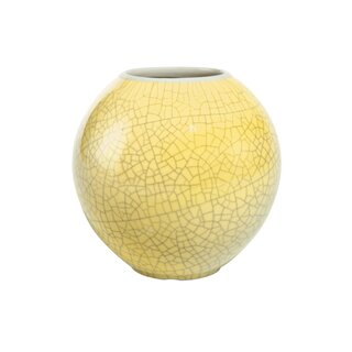 Goebel Ball Vase Sun Yellow